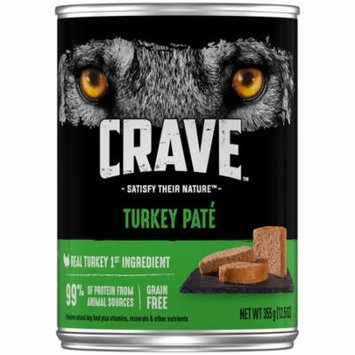 Crave™ Turkey Pate Dog Food 12.5 oz. Can