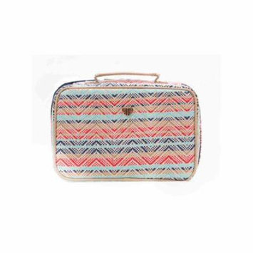 PurseN Lexi Travel Cosmetic Makeup Organizer Ring Binder System - Sunset Tides