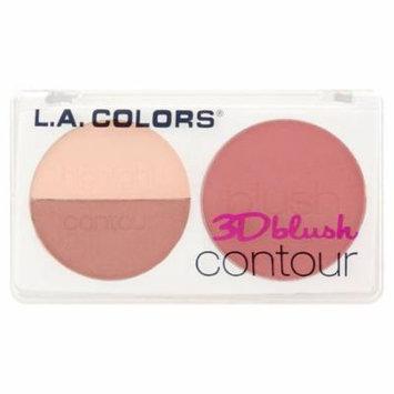 (2 Pack) L.A. Colors CBL809 Hottie 3D Blush Contour, 0.28 oz