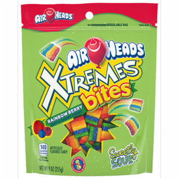 (3 Pack) Airheads, Rainbow Berry Xtremes Bites, 9 Oz