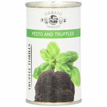 NEW Urbani Truffles Truffle Thrills, Pesto and Truffles - 2 pcs. x 6.4 Oz Cans BUY 2 and SAVE