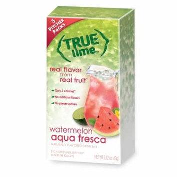 (2 Pack) True Lemon Drink Mix, 2.12 Oz, Watermelon Lime, 5 Pitcher Packs (Pack of 1)
