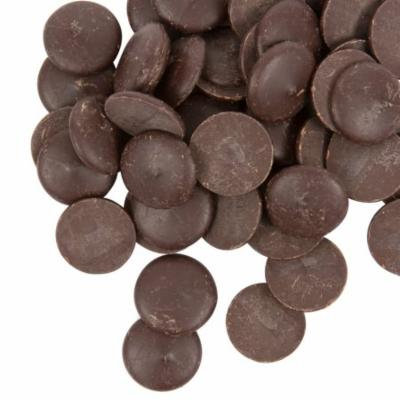 Ghirardelli 5 lb. 100% Cacao Unsweetened Chocolate Liquor Wafers