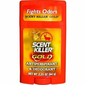 (2 Pack) Wildlife Research Scent Killer Gold Antiperspirant and Deodorant