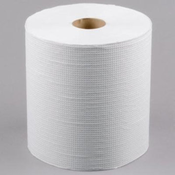TableTop King 800' White Hardwound Roll Paper Towel - 6/Case