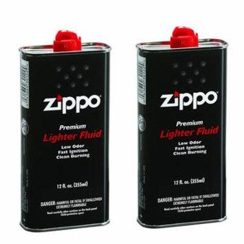 Zippo Lighter Fulid Fuel 12 fl.oz of 2 pack