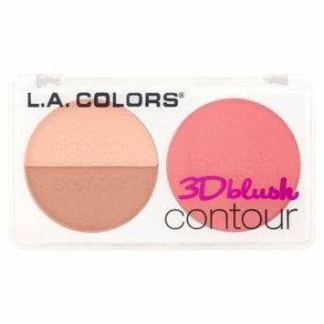 (2 Pack) L.A. Colors CBL812 Want Me 3D Blush Contour, 0.28 oz