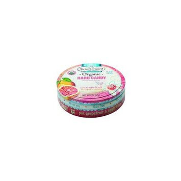 (2 Pack) Torie and Howard Organic Hard Candy Tin, Pink Grapefruit and Tupelo Honey, 2 Ounce