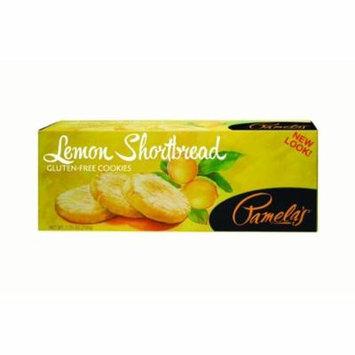 (2 Pack) Pamela's Products Shortbread Cookies, Lemon, 7.25 Oz