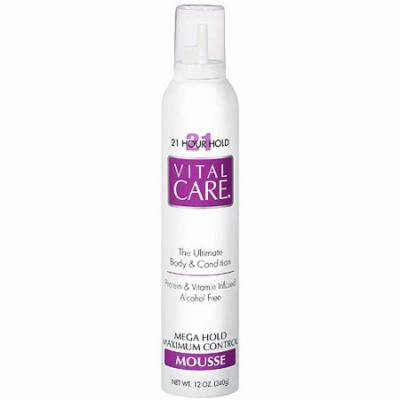 (2 Pack) Vita Care 21 Hour Hold Mousse, 12 oz
