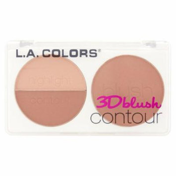 (2 Pack) L.A. Colors CBL803 Crush 3D Blush Contour, 0.28 oz