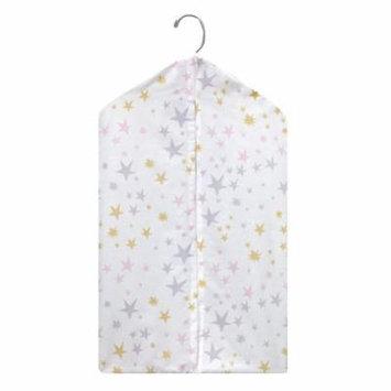 Bedtime Originals Rainbow Unicorn Diaper Stacker - Pink, Purple, Gold, White