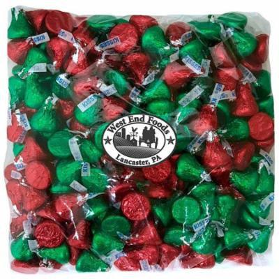 Bulk Milk Chocolate Assorted Hershey's Kisses (2 lb)