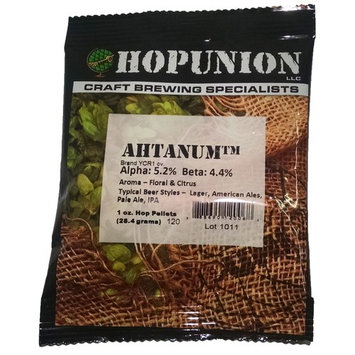 Hopunion US Hop Pellets for Home Brew Beer Making (US Ahtanum)