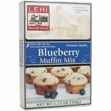 Lehi Roller Mills Blueberry Muffin Mix (Pack of 18)