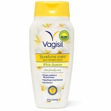2 Pack - Vagisil Wash Scentsitive Scents White Jasmine 12 oz