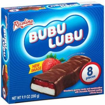 Ricolino Bubu Lubu Chocolate Covered Strawberry Marshmallow Candy, 9.9 oz