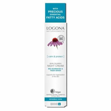 Skin Calming Night Cream Logona 1 oz Cream