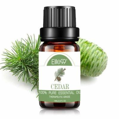 Elite99 10ML Cedarwood Essential Oil 100% Pure & Natural Aromatherapy Oils For Diffuser,Massage,Relaxation