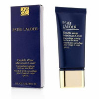 Double Wear Maximum Cover Camouflage Make Up (Face & Body) SPF15 - #1N1 Ivory Nude-30ml/1oz
