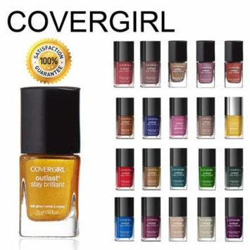 CoverGirl Outlast Stay Brilliant Nail Gloss Color Polish 5 Piece Random Set, RANDOM 5-PIECE NAIL SET! This beautiful assortment of vibrant.., By Beauty Brags
