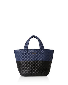 Mz Wallace Small Metro Color Block Quilted Tote