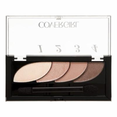 COVERGIRL Eye Shadow Quads, Notice Me Nudes 700, 0.06 Oz (Pack of 18)
