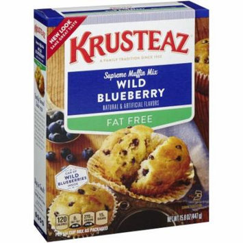 Krusteaz, Supreme Muffin Mix, Wild Blueberry (Pack of 6)