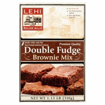 Lehi Roller Mills, Brownie Mix, Double Fudge (Pack of 2)
