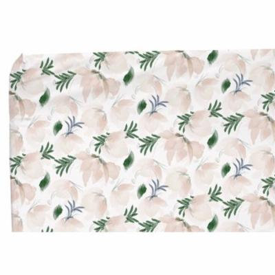 Harriet Bee Strange Floral Changing Pad Cover