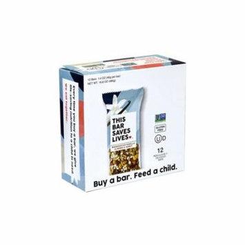 THIS BAR SAVES LIVES Madagascar Vanilla Almond & Honey Bars, 1.4 oz, 12 Count