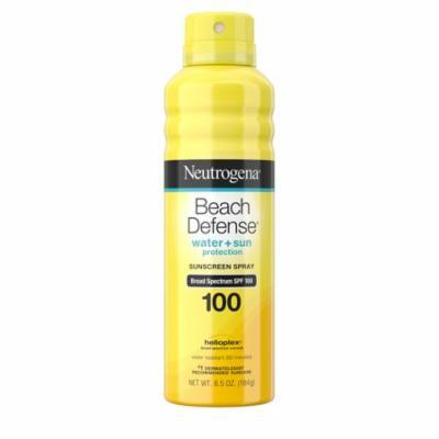 Neutrogena Beach Defense Oil-free Body Sunscreen Spray, SPF 100, 6.5 oz