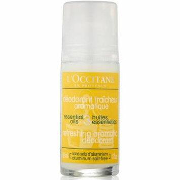 2 Pack - L'Occitane Refreshing Aromatic Deodorant with 3 Essential Oils 1.7 oz