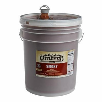 Cattlemen'S 5326 Master'S Reserve Texas Smokey Bbq Sauce 1-5 Gallon