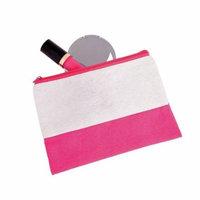 Pink & White Makeup Bag