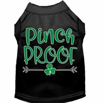 Pinch Proof Screen Print Dog Shirt Black Sm (10)