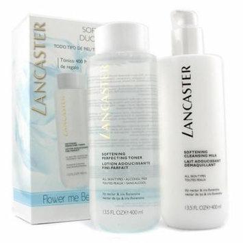 Lancaster Softening Duo (Limited Edition): Cleansing Milk 400ml + Toner 400ml 2pcs Skincare