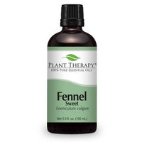 Fennel (sweet) Essential Oil. 100 ml (3.3 oz) 100% Pure, Undiluted, Therapeutic Grade.