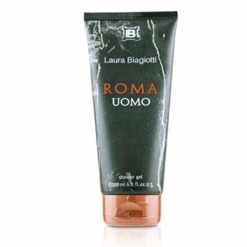 Laura Biagiotti Roma Uomo Shower Gel (New Packing) 200ml/6.8oz Men's Fragrance