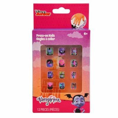 Vampirina Girls Press On Nails Kids Nail Art Childrens Cosmetics 12 Piece Set