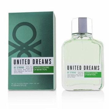 Benetton United Dreams Be Strong Eau De Toilette Spray 200ml/6.7oz Men's Fragrance
