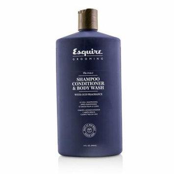 The 3-in-1 Shampoo, Conditioner & Body Wash-414ml/14oz