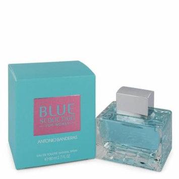 Blue Seduction by Antonio Banderas Eau De Toilette Spray 2.7 oz-Women