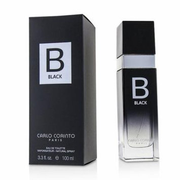 Carlo Corinto Black Eau De Toilette Spray 100ml/3.3oz Men's Fragrance