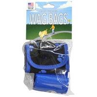 Wag Bags Soft Dispenser Paw Prints [Options : BLUE (30 Bags)]