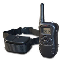 Merske 300-yard Pet Trainer 2-dog Remote Training System with LCD Display