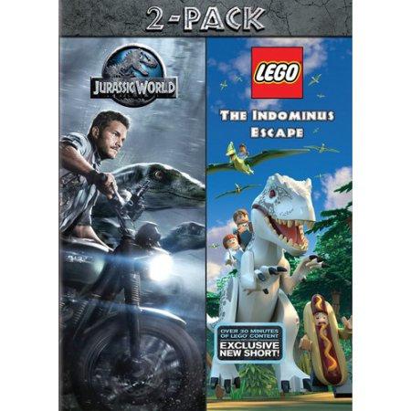 Mca Jurassic World/Lego Jurassic World 2pack DVD