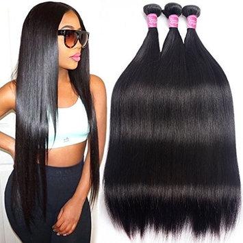 Grace Length Brazilian Hair 3 Bundles 18 20 22 Inches 8A Virgin Unprocessed Straight Human Hair Natural Black Brazilian Straight Hair