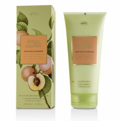 4711 Acqua Colonia White Peach & Coriander Moisturizing Body Lotion 200ml/6.8oz Ladies Fragrance