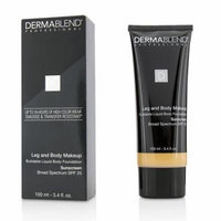 Dermablend Leg and Body Make Up Buildable Liquid Body Foundation Sunscreen Broad Spectrum SPF 25 - #Light Sand 25W (Exp. Date 01/2019) 100ml/3.4oz Make Up